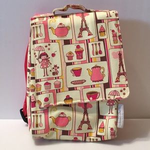 Sugar Booger Cupcake Lunch Tote Backpack